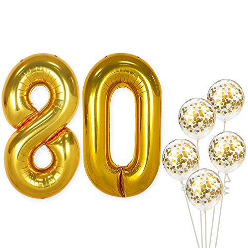 80th Birthday Decorations Party Supplies