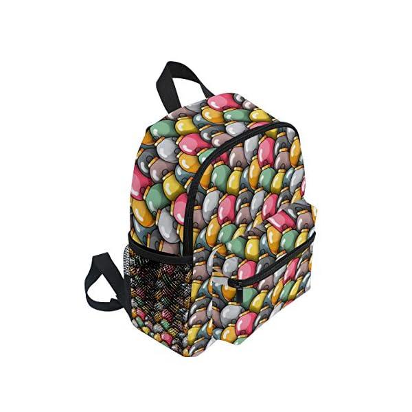 Natale Kid Zaino Scuola Bookbag Bambini Viaggio Daypack Ragazza Ragazzo 3-8 Anni Bambino Prescolare 2 spesavip