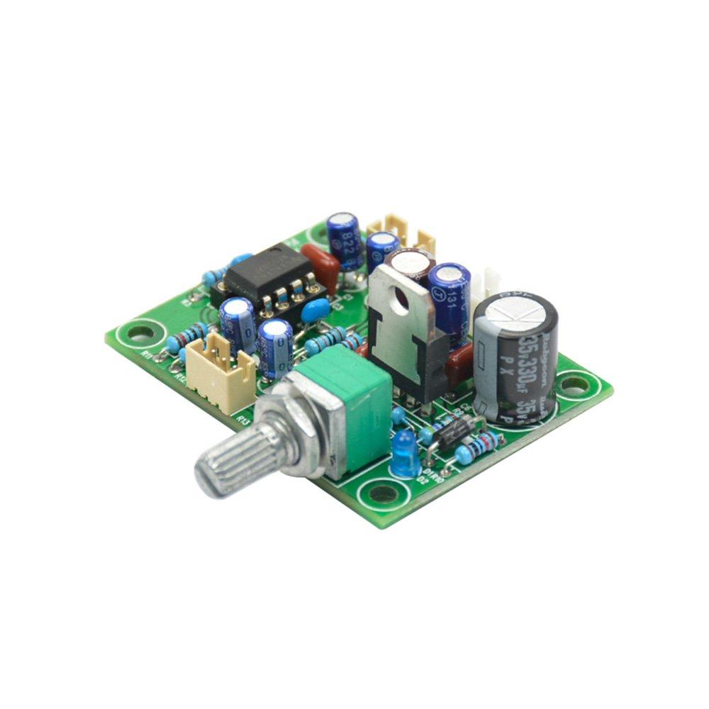 AOSHIKE NE5532 Pre-amp Preamplifier volume adjustment Board 10 times Preamp magnification board DC Single power supply 10-34V
