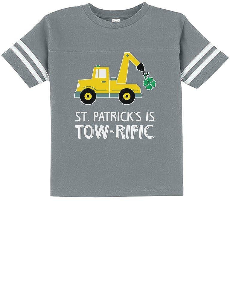 Patricks Day Gift Clover Tractor Toddler Jersey T-Shirt Tstars St