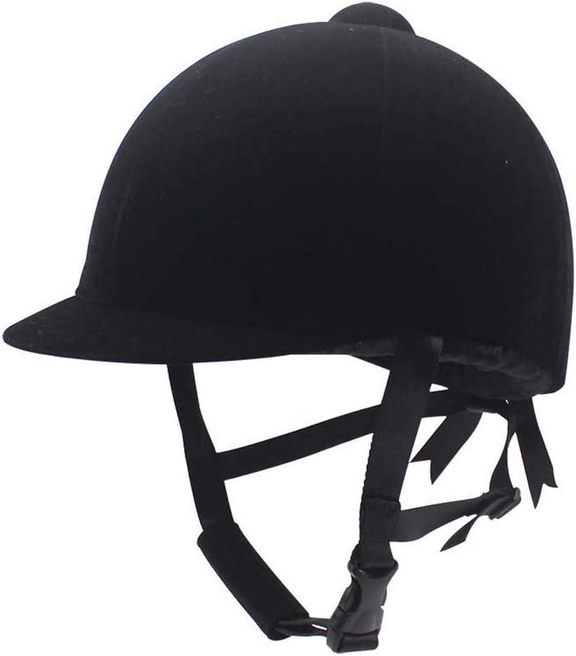 tewun Sombrero Ecuestre Casco Ingeniería Plásticos Cómodo Sombreros para Montar a Caballo Cascos de equitación de Invierno Transpirables