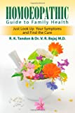 Homoeopathic Guide to Family Health, R. K. Tandon and V.R. Bajaj, 1612045448