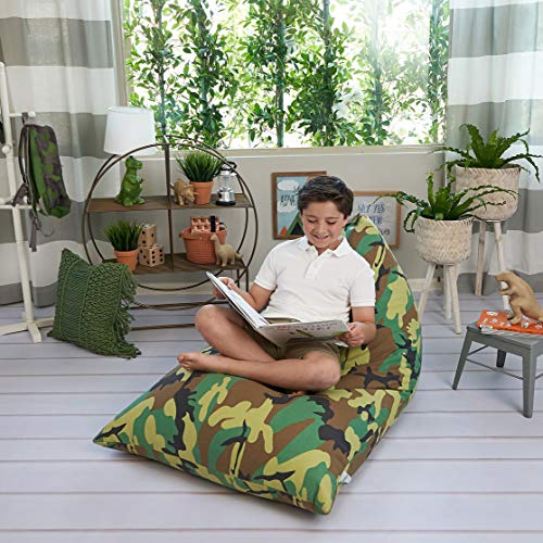 Expensive Stuffed Animals (Butterfly Craze Stuffed Animal Storage Bean Bag Chair - Stuff 'n Sit Toy Bag Floor Lounger for Kids, Teens and Adult |Extra Large 200L/52 Gal Capacity |Premium Cotton Canvas)