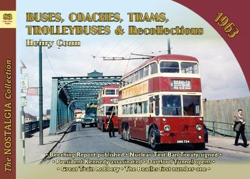 Download Buses, Coaches, Trams and Trolleybus Recollections 1963 PDF