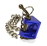 Integy Hobby RC Model C26439BLUE Realistic 1/10 Scale Fixed Clevis Bracket w/Pin for Off-Road Trail Rock Crawling