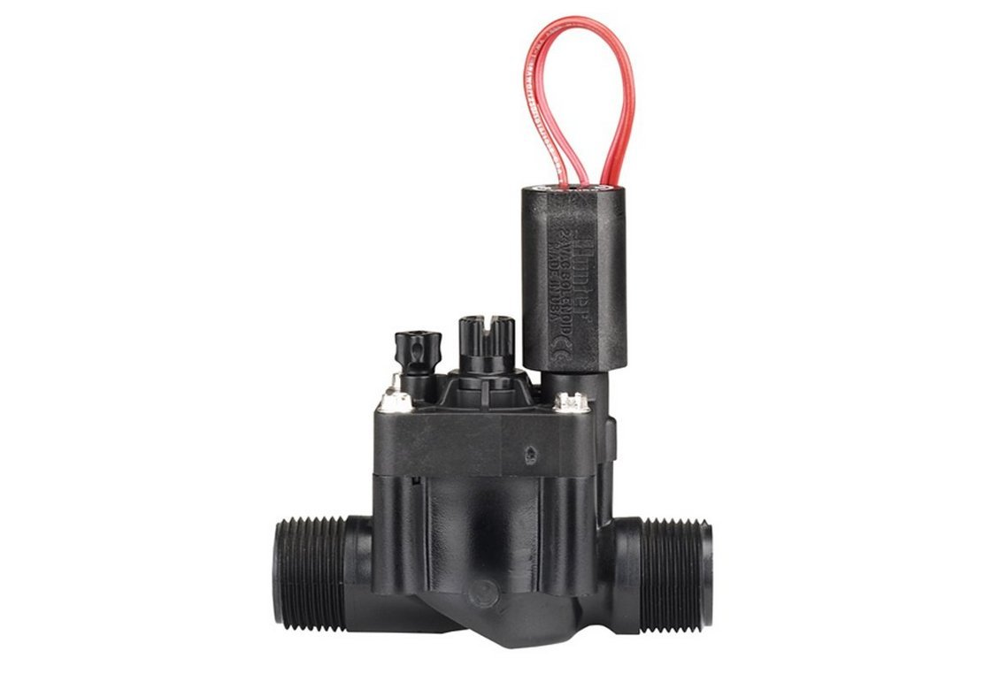 Hunter Sprinkler PGV101MM PGV Series 1-Inch Globe Male by Male Valve with Flow Control