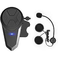 d4bcd67cc99 Thokwok Motorcycle Bluetooth Headset,BT-S3 1000m Helmet Bluetooth  Communication Systems Ski Helmet Headphones