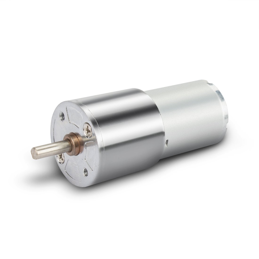 uxcell 10RPM DC 24V Micro Gear Box Motor Speed Reduction Centric Output Shaft with 4mm Diameter, 12mm Length, M3 Hole Size