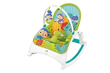 b0dbc5c0465 Fisher-Price DMR88 Rainforest Friends Newborn-to-Toddler Rocker