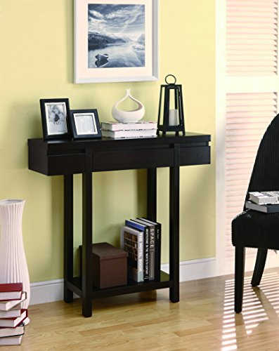 Coaster Home Furnishings 950135 Contemporary Console Table, Cappuccino