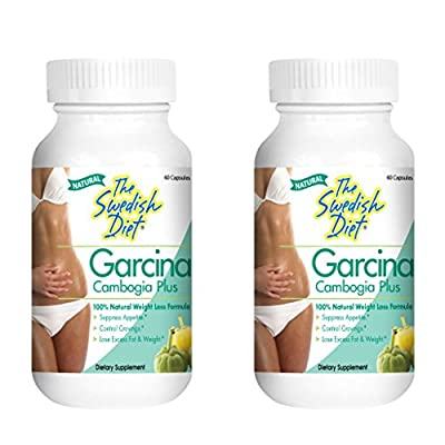 The Swedish Diet Twin Pack Garcinia Cambogia Supplement