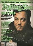 Rolling Stone Magazine (Billy Joel; Tina Turner; Frank Zappa) (November 6th, 1986; issue # 486)