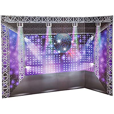 myLife Brand Products Reversible Background for Dolls, City and Dance Club: Toys & Games