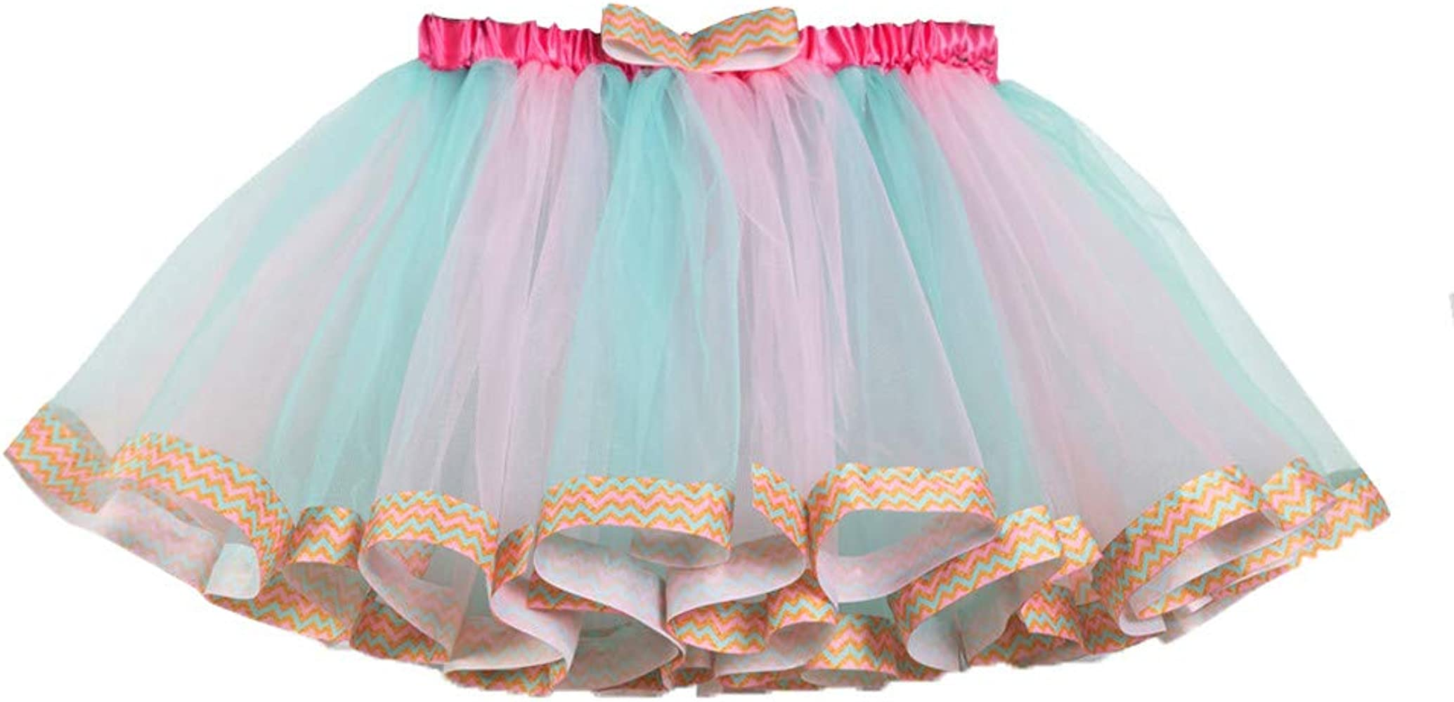 Tul Tutú Falda para Niña Vestido de Niñas Bebés Disfraz para ...