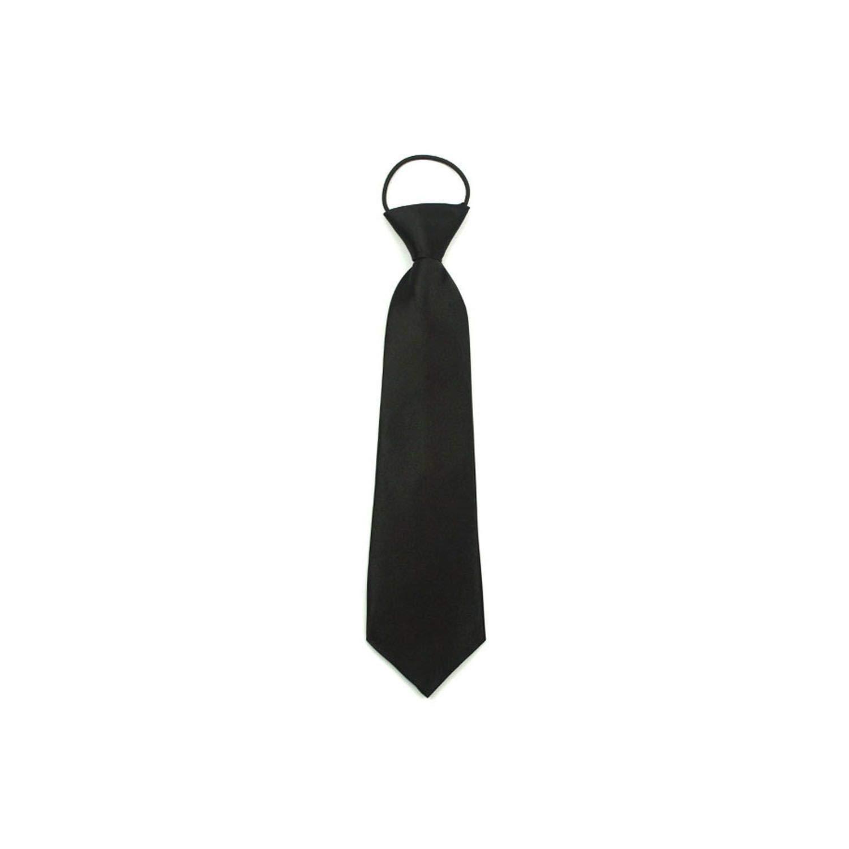 Sólido corbata fácil de usar para los niños Niños Niñas ...