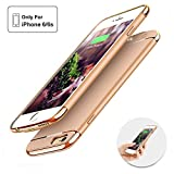 iPhone6/6S Battery Case ,Joyroom Ultra Slim Extended Battery Case for iPhone 4.7inch, with 2300mAh Portable Charger Case Slim Protective Case External Battery Rechargeable Backup Case (Gold)