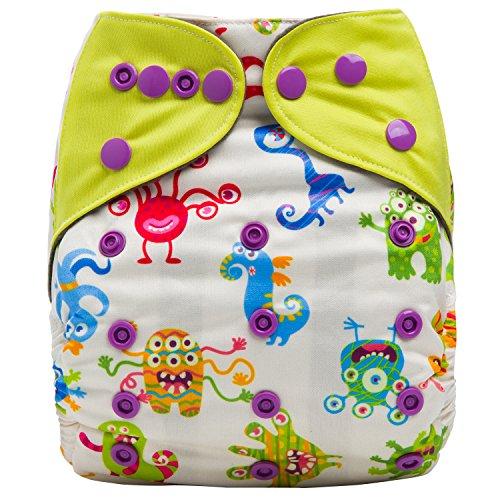 HappyEndingsTM Charcoal Bamboo Pocket Diaper product image