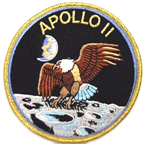 J&C Family Owned NASA Apollo 11 Mision Patch/Applique 4