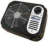 Garage Vent 300 CFM | Improve Air Quality and rid Your Garage of unwanted Humidity, Moisture, Mold, Mildew, Odor, and Contaminants. Wall Mounted Garage Ventilation Fan.