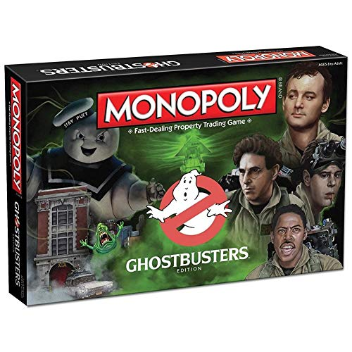 USAOPOLY Monopoly: Ghostbusters Edition Board Game]()