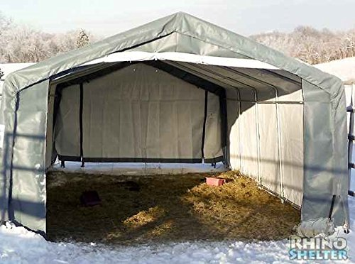 Amazon.com : Instant/Portable/Temporary/Fabric Garages By Rhino Shelters :  Garden U0026 Outdoor