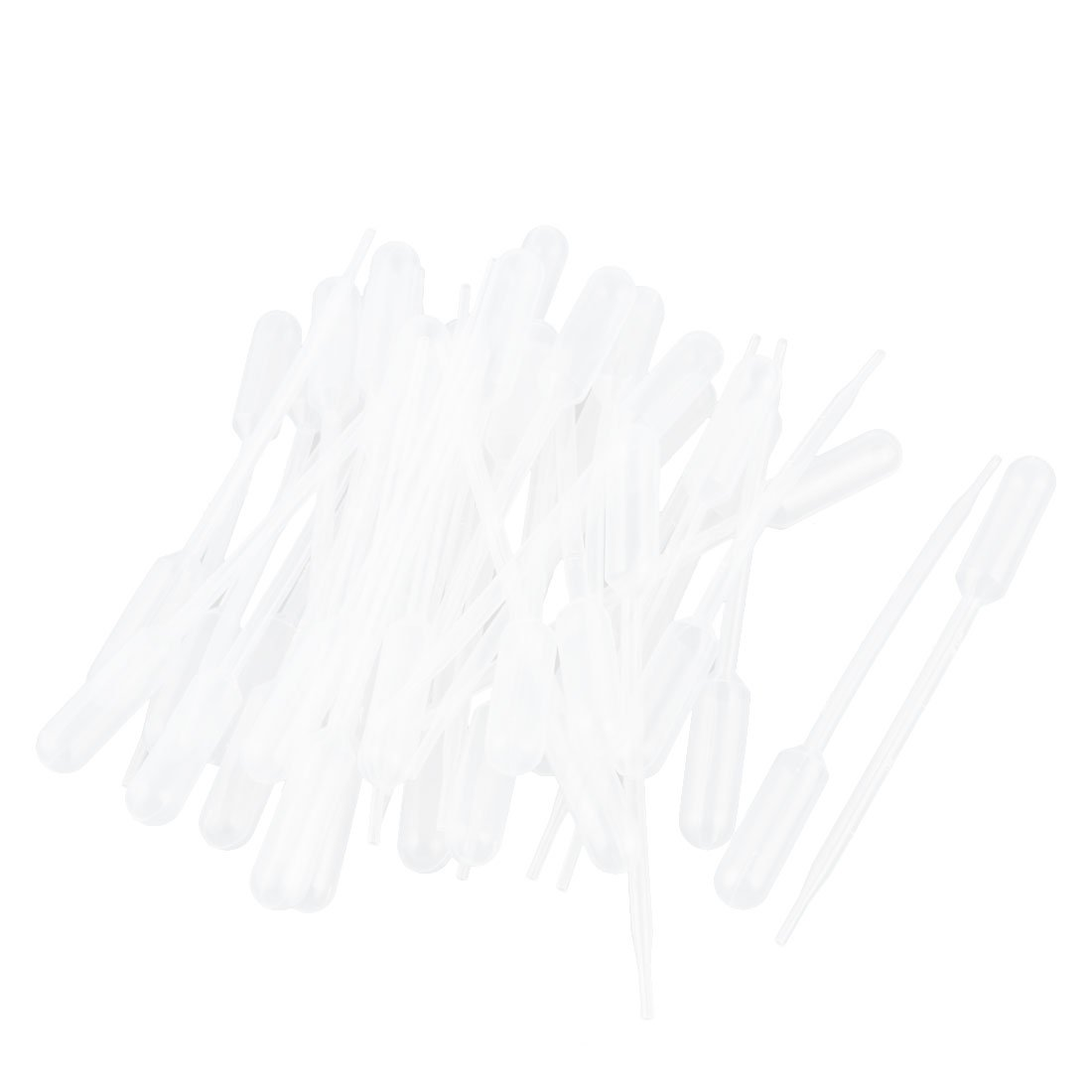 Makeup and Science Laboratory Graduated Pipettes Dropper for Essential Oils Eathtek 100PCS 3ML Disposable Plastic Transfer Pipettes
