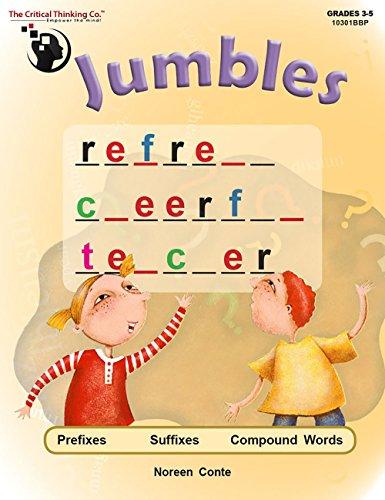 Jumbles: Prefixes, Suffixes, Compound Words, Grades 3-5 (Prefix And Suffix Exercises For Grade 5)