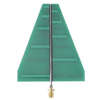 Antena de Log Periódica, 1.35GHz-9.5GHz 5-6dB Ganancia UWB ...
