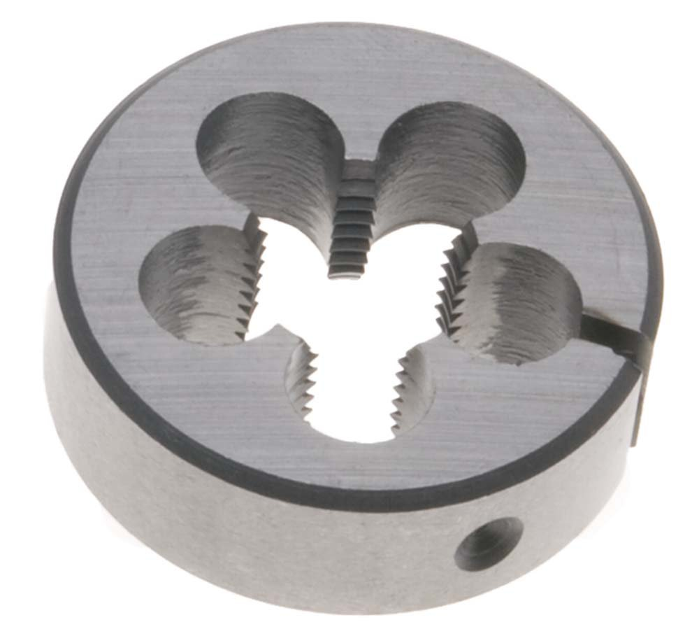 9/16''-24 LEFT HAND Round Die, 1-1/2'' Outside Diameter - High Speed Steel