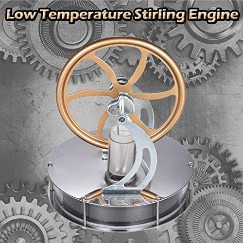 (DDLmax Low Temperature Stirling Engine Motor Steam Heat Education Model Toy DIY)