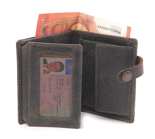 BARBAROSSA Ruvido - Kleine Brieftasche in military