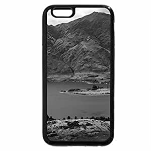 iPhone 6S Plus Case, iPhone 6 Plus Case (Black & White) - Lake Wanaka, Otago, New Zealand