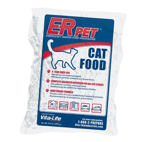 QuakeKare Emergency Cat Food Ration (Wet Vapor Vacuums)