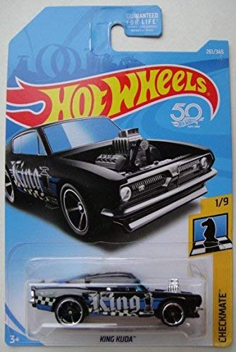 Hot Wheels 2018 50th Anniversary Checkmate King Kuda (King) 261/365, Black