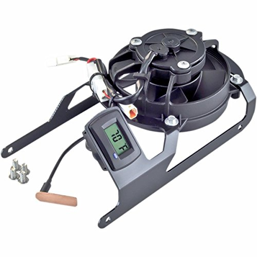 Trail Tech TTV Digital Cooling Fan - Yamaha YZ250FX, WR250F - 2015 _732-FN9 by Trail Tech