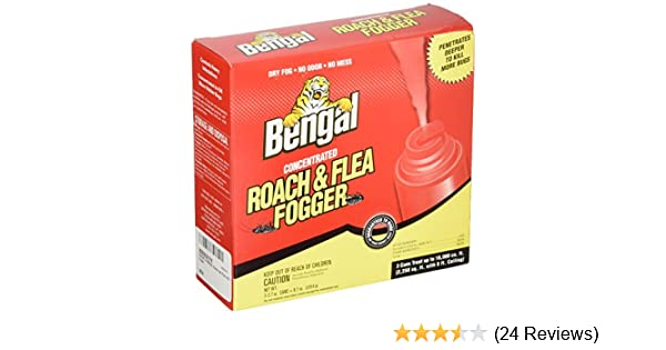 Amazon Bengal Chemical 55201 Roach And Flea Indoor Fogger 3