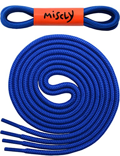 round-shoelaces-3-pairs-5-32-thick-for-shoes-sneakers-boots-by-miscly-63-160-cm-blue