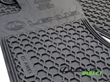 Lexus Genuine Parts PU320-4011R-AW OEM IS350 IS250 All Weather 4-Piece Floor Mats, AWD, All-Wheel Drive Only by Lexus