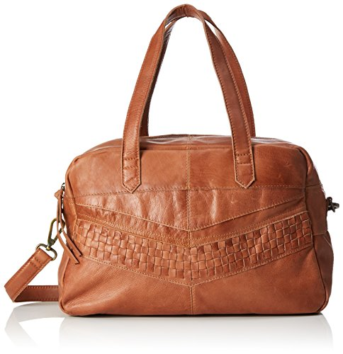 PIECES Leather Marrone Bag Donna Borsette Mocca da polso Pcjimini BrBxwz