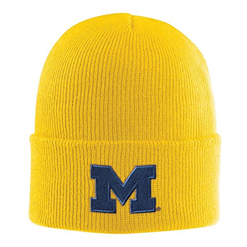 - NCAA Michigan Wolverines Acrylic Watch Hat, Spectra Yellow, One Size