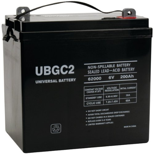 Universal Power Group 45966 Sealed Lead Acid Battery by Universal Power Group