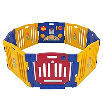 Best Choice Products® Baby Playpen Kids 8 Panel Safety Play Center Yard Home Indoor Outdoor New Pen