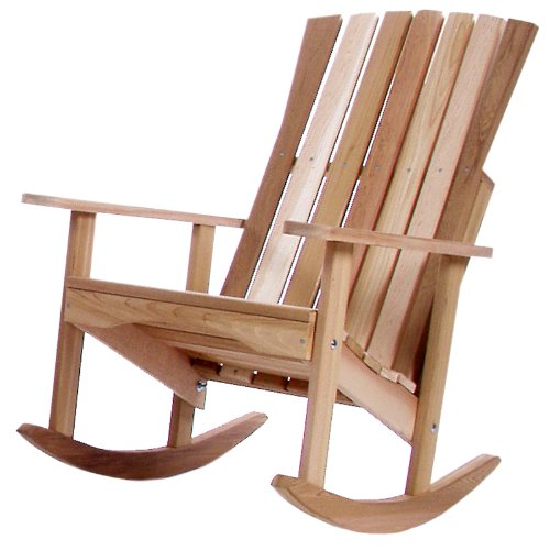 All Things Cedar RC22U Athena Rocker (Red Cedar Adirondack Rocking Chair)