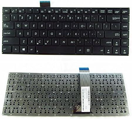 Replacement for Asus S400 S400C S400CA S400E P//N:AEXJ7U00010 AEXJ7U00020 AEXJ7U01110 0KNB0-410AUS00 MP-12F33US-9201W US Layout Black Color Without Frame New Laptop Keyboard