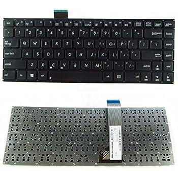 Laptop Keyboard Compatible for ASUS R556 R556LA R556LB R556LD R556LF R556LJ R556LN R556LP R556YA R556YI US Layout Black Color No Frame