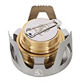 REDCAMP Mini Alcohol Burner Stove Portable for Camping,Backpacking,Hiking