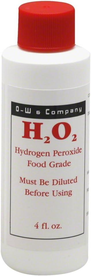 O. W. Bionics 12 Percent Hydrogen Peroxide, 4 Ounce