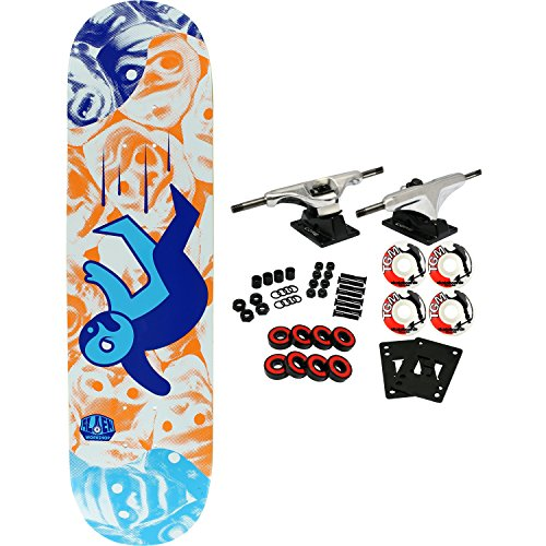 ALIEN WORKSHOP Skateboard Complete PREMONITIONS FALLING - Workshop Alien Wheels