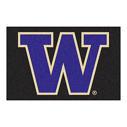 NCAA University of Washington Starter Rug, 20