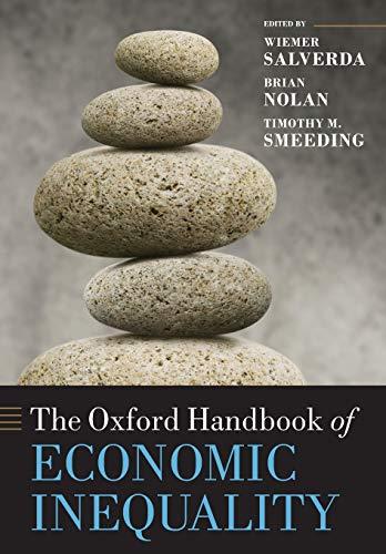 The Oxford Handbook of Economic Inequality